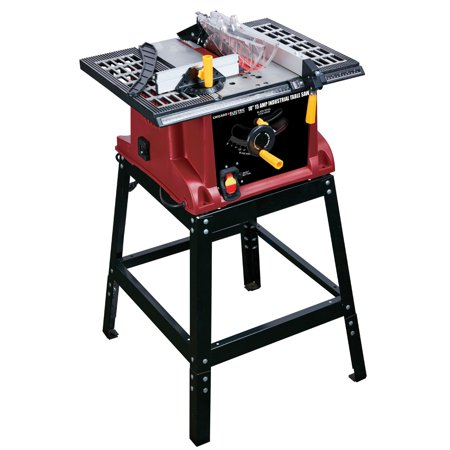 Electric Table Saw - 10 in., 15 Amp Benchtop Table Saw