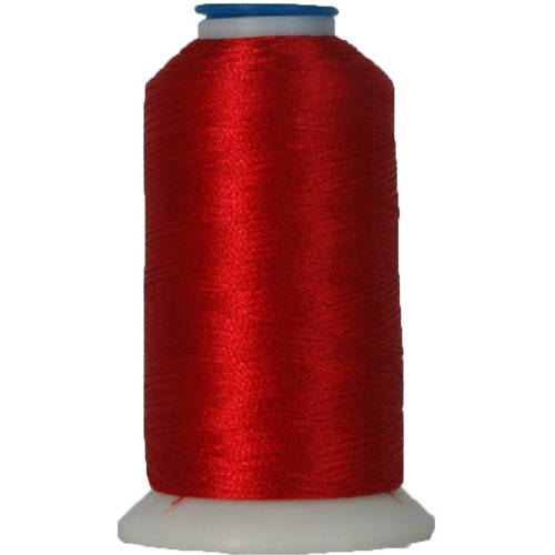 Threadart Polyester Machine Embroidery Thread - No. 148 - Christmas Red - 1000M - 220 Colors