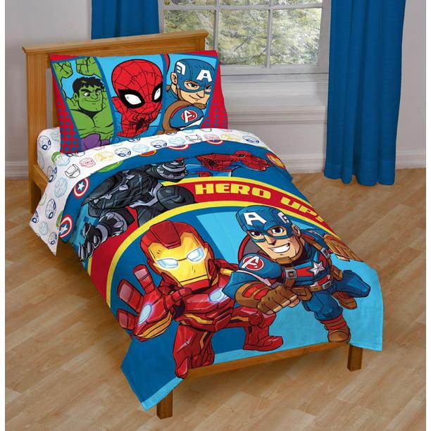 Super Hero Adventures Double Team, Super Hero Bedding Double