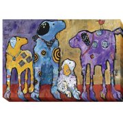 Artistic Home Gallery Cast of Characters by Jenny Foster Painting Print on Wrapped Canvas