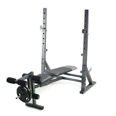 Gold's Gym XR 10.1 Olympic Weight Bench with Weight