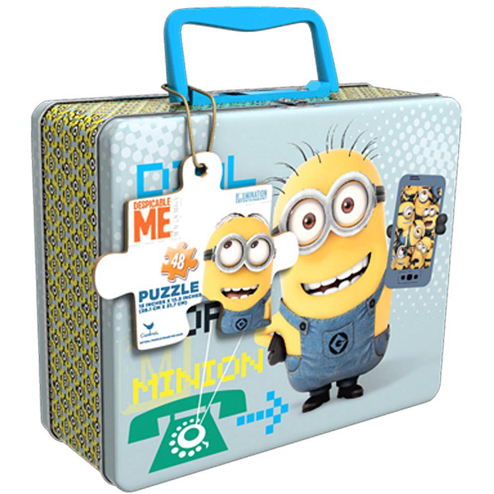 Minions 48 Piece Puzzle with Tin