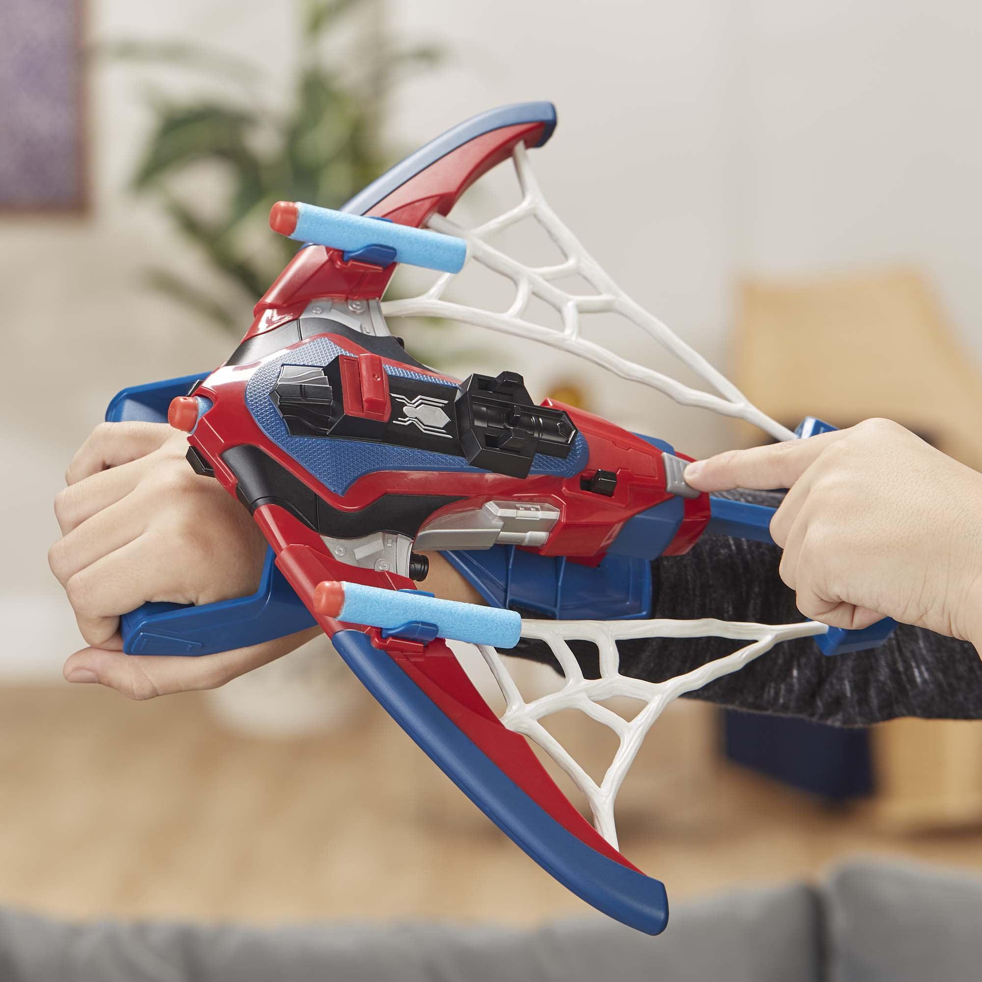 Marvel Spider-Man Web Shots spiderbolt nerf Powered Blaster