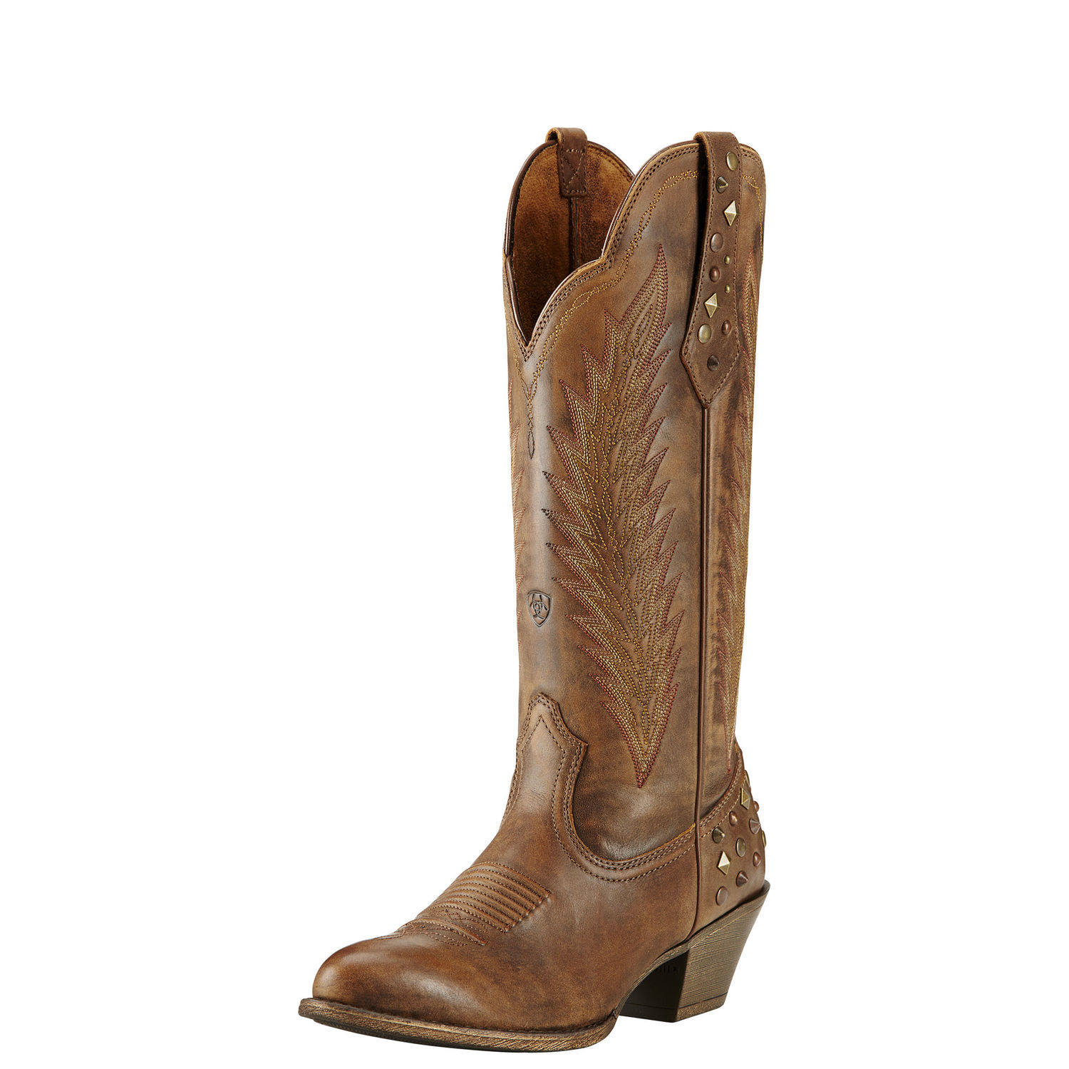 "Ariat 10018598 Dusty Diamond 14"" Pull On Cowboy Boot by Ariat"