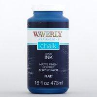 Waverly Inspirations 60758E Chalk Paint, Ultra Matte Finish, Ink, 16 fl oz