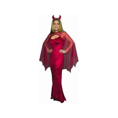 Adult Ladies Devil Costume