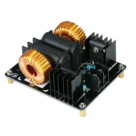 - ZVS 1000W Low Voltage Induction Heating Board Module Flyback Driver Heater Marx Generator Tesla Coil Power Supply Board