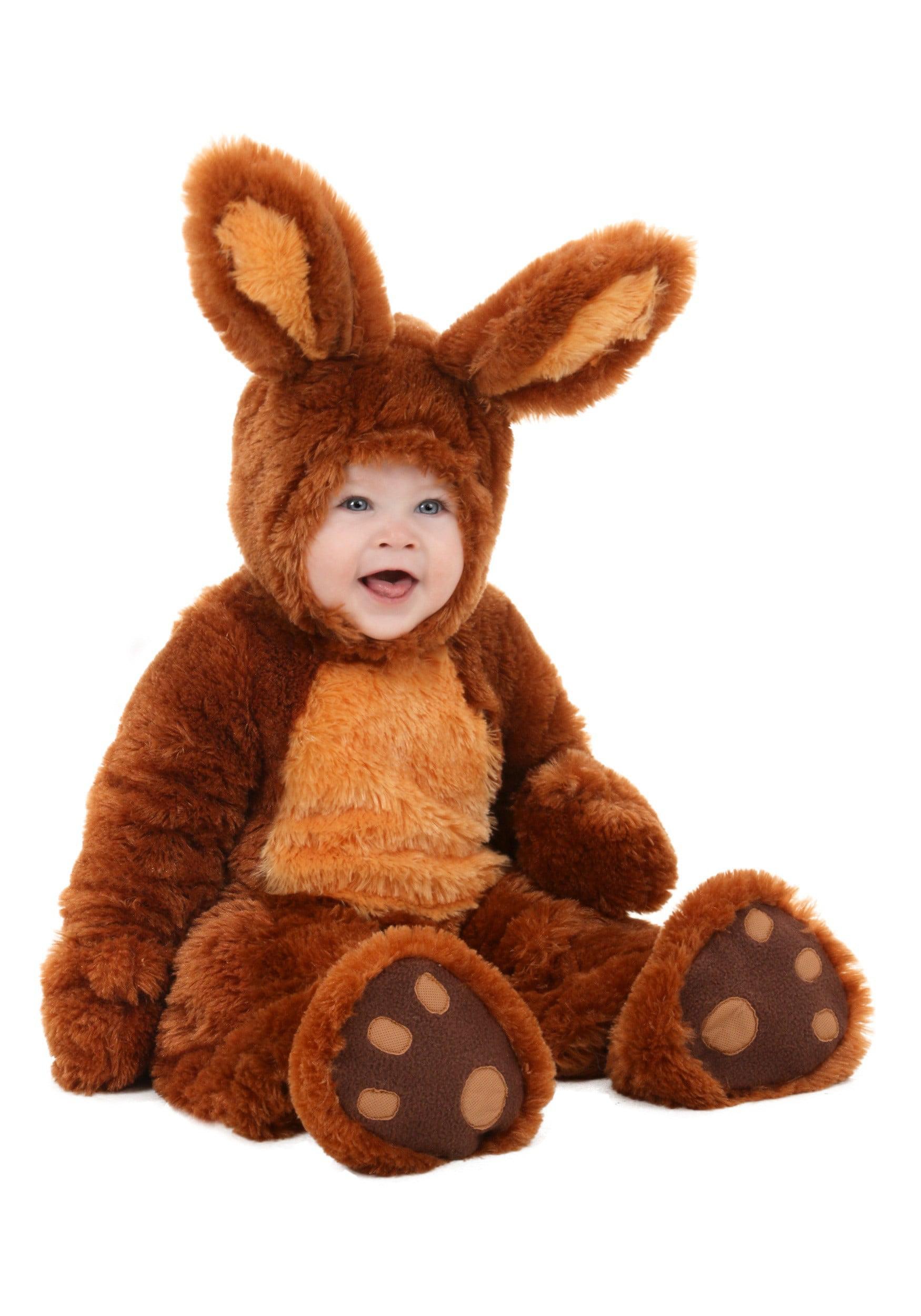infant brown bunny costume - walmart