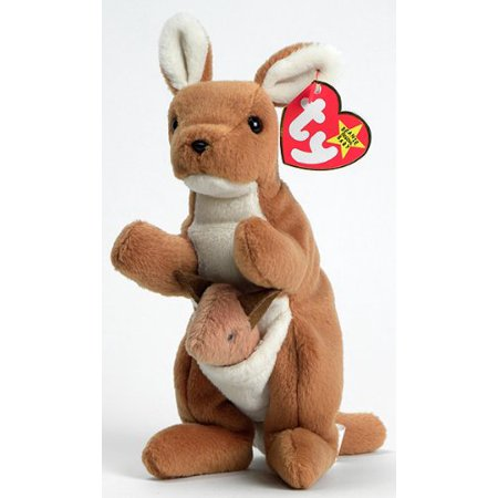 TY Beanie Baby Pouch the Kangaroo - image 1 of 1