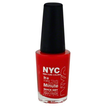 NYC New York Color In a New York Color Minute Quick Dry Nail Polish ...