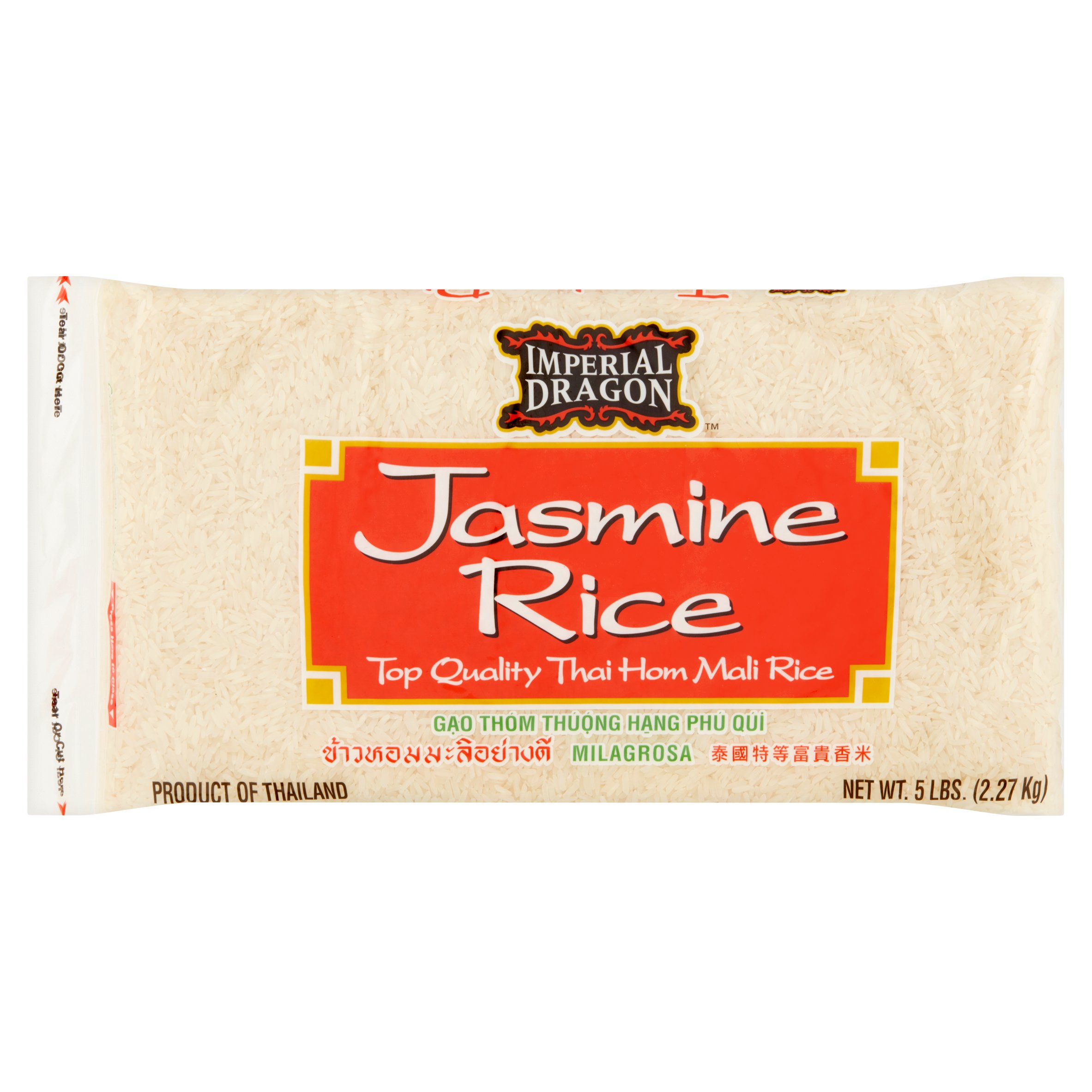 Imperial Dragon Thai Hom Mali Jasmine Rice, 5 lb