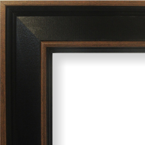Craig Frames Inc. 2 Wide Painted Wood Grain Picture Frame