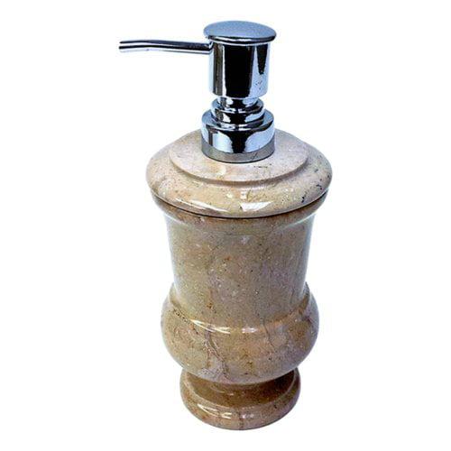 Nature Home Decor Sahara Beige Marble Liquid Soap Dispenser