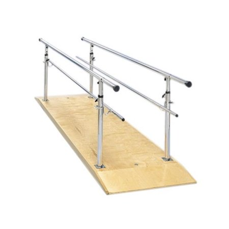 Fabrication Enterprises 15-4030 10 ft. Height Adjustable Parallel Bars with -