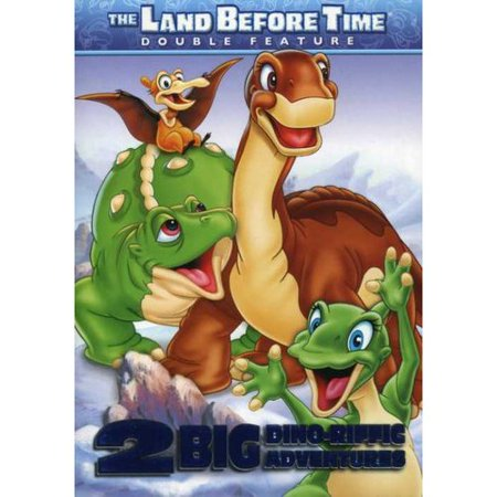 The Land Before Time: Dino-Riffic Double Feature - The Big Freeze / Journey To Big Water