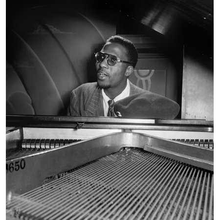 Thelonious Monk N(1917-1982) American Composer And Pianist At MintonS Playhouse In New York City Photograph By William P Gottlieb C1947 Poster Print by Granger Collection