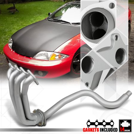 Silver Coated Exhaust Header Manifold for 95-02 Chevy Cavalier/Sunfire LN2 2.2 96 97 98 99 00 01 99 Chevy Cavalier Bumper