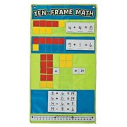 IN-13679259 Ten Frame Math Pocket Chart 1 Set(s) by Oriental Trading Company