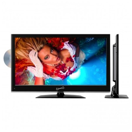 22 in. Widescreen LED HDTV with Built-in DVD Player Hdtv Lcd Dvd Player