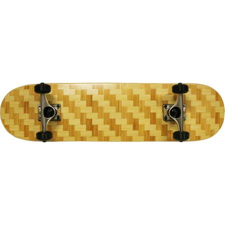 BAMBOO WEAVE Skateboard 8.0 Complete Checker READY TO - Weaving Board