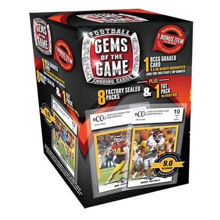 2018 Gems Of The Game Football Value Box Trading Cards