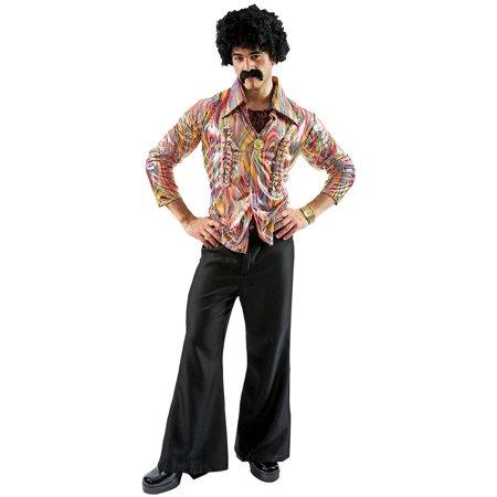 Men's Disco Adult Costume, Standard](Disco Costumes Mens)