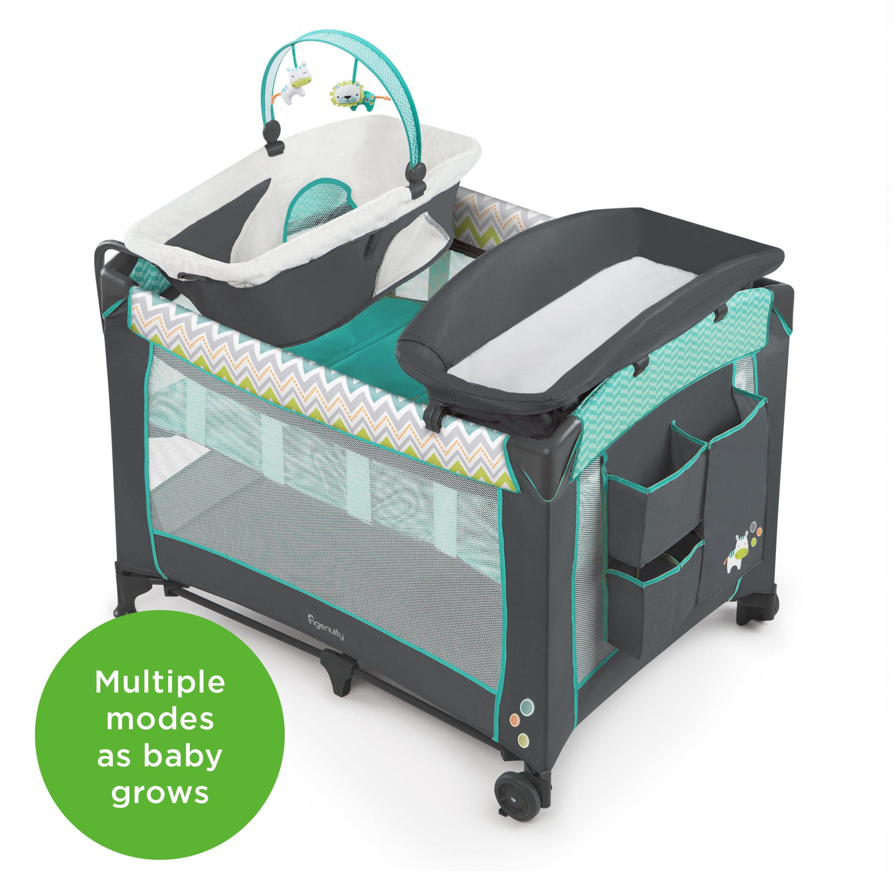 Ingenuity Smart And Simple Playard Ridgedale Walmart Com