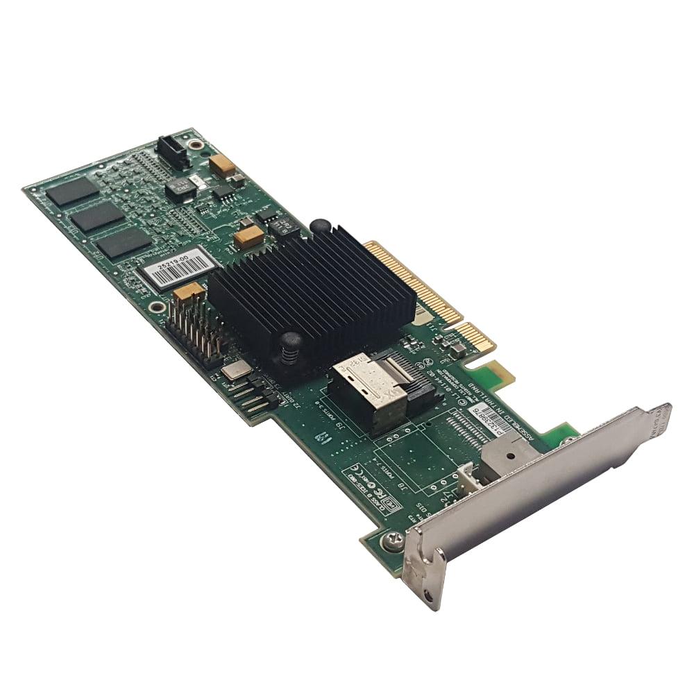 LSI MegaRAID MR SAS 8704EM2 L3-01144-09C Low Profile Raid Controller Card Refurbished