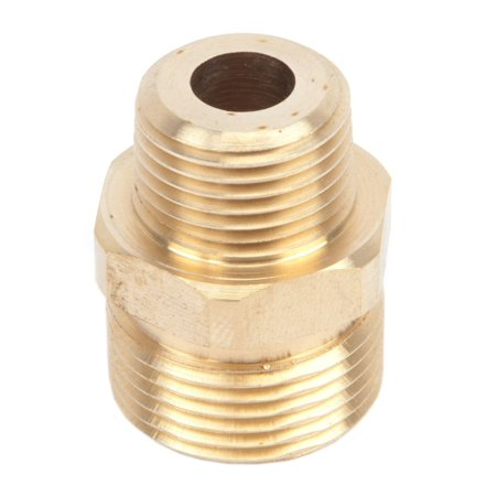forney 75117 pressure washer accessories, male screw nipple, m22m-by-3/8-inch male npt