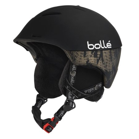 Bolle Edge - *Bolle Helmets 30774 Soft Black W/ Bluetooth 58-61cm Synergy