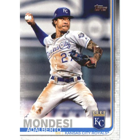 2019 Topps 22 Adalberto Mondesi Kansas City Royals Baseball Card Gotbaseballcards