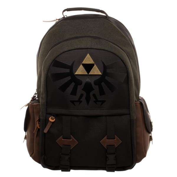 The Legend of Zelda Zelda Link Medieval Backpack Apparel by Bioworld