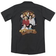 Cheers Group Shot (Back Print) Mens Work Shirt