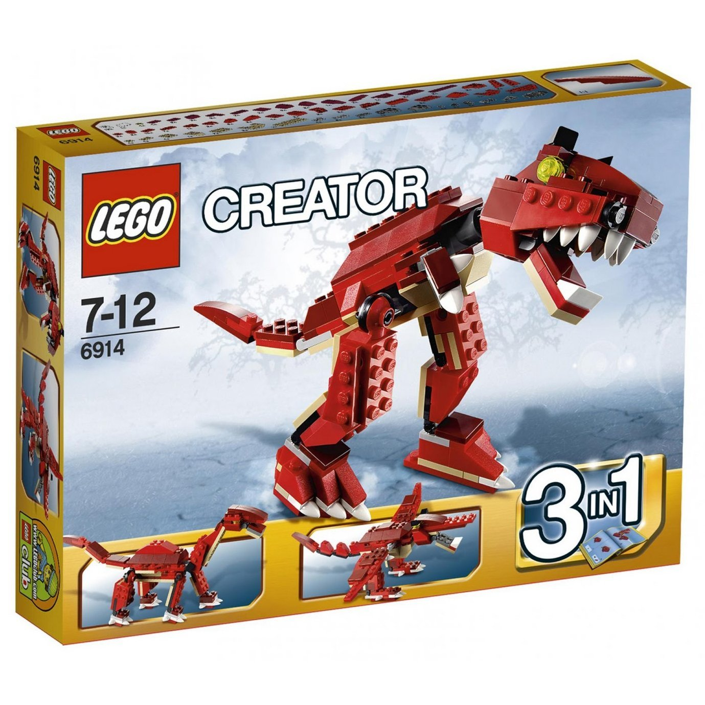 Lego Creator Prehistoric Hunters 6914 Walmartcom