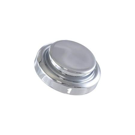 Master Cylinder Top Cover (Eckler's Premier  Products 25-105076 Premier  Products, Master Cylinder Cap Cover, Short Top, Chrome| E-30379 Corvette)
