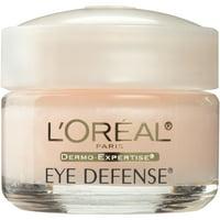 L'Oreal Paris Dermo-Expertise Eye Defense Under Eye Cream for Dark Circles, 0.5 oz.