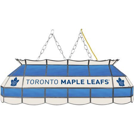 "NHL Handmade Tiffany Style Lamp, 40"", Toronto Maple Leafs by"