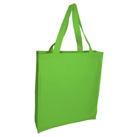 Set of 3 - Wholesale Heavy Canvas Tote Bags with Full Gusset