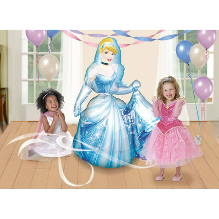 Disney Cinderella AirWalker Foil Balloon - Cinderella Party Theme