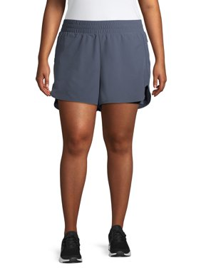 Athletic Works Women's Plus Size Solid Shorts