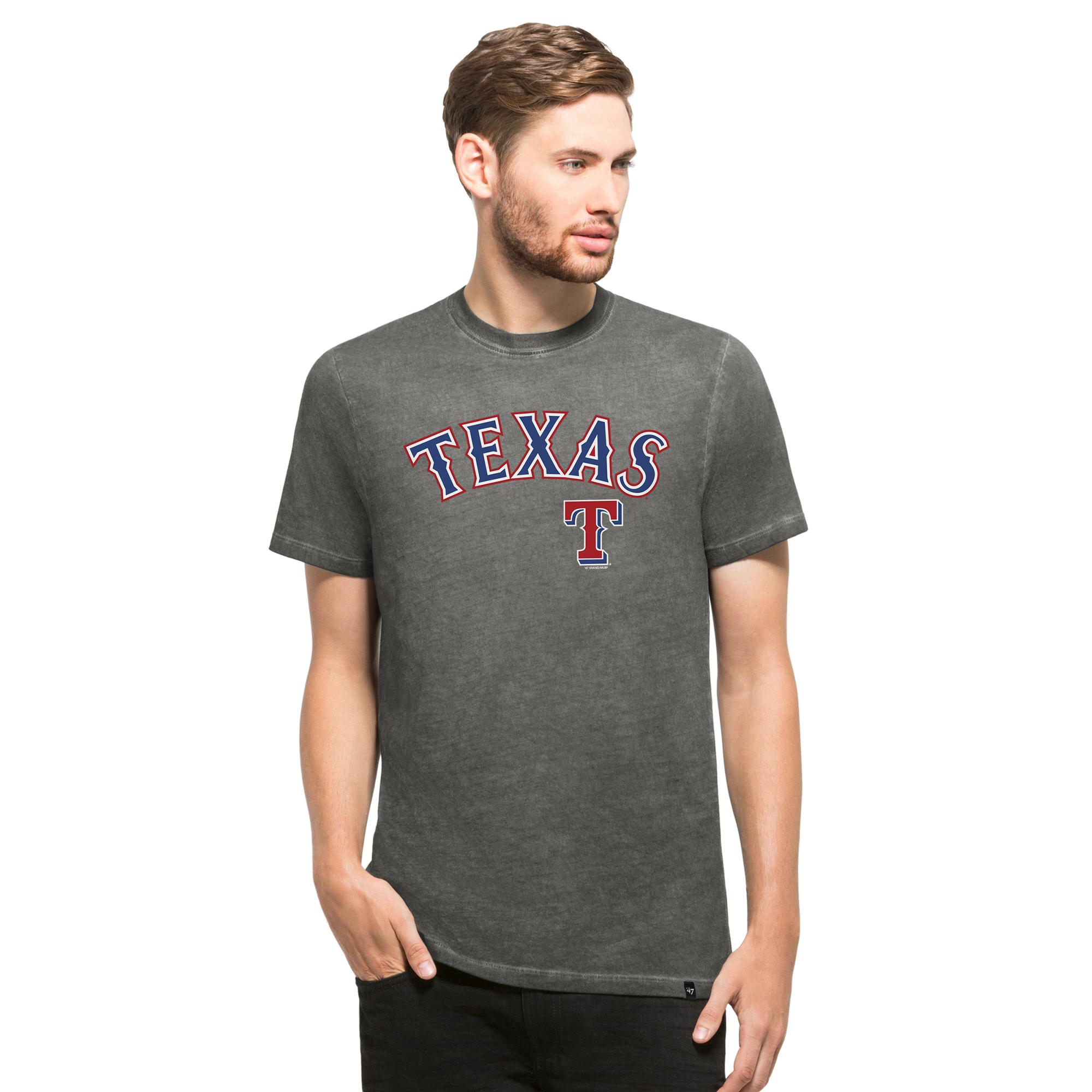 Texas Rangers '47 Reverb T-Shirt - Charcoal