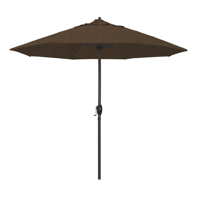 California Umbrella Casa Series Patio Market Umbrella in Olefin with Aluminum Pole... by California Umbrella