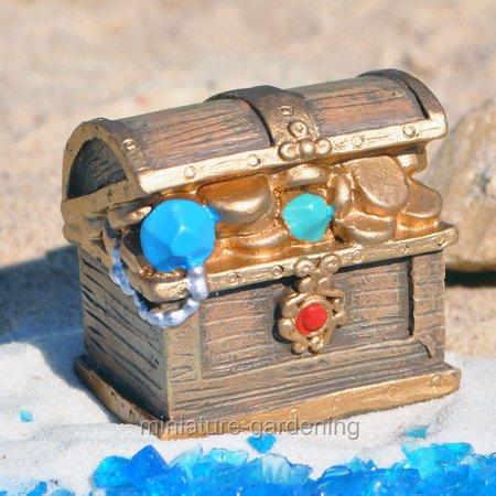Giftcraft Miniature Fairy Garden Treasure Chest