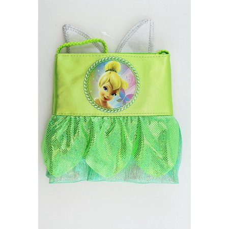 Disney Fairies Tinker Bell Green Dress Mini Kids Shoulder Bag](Tinkerbell Handbag)