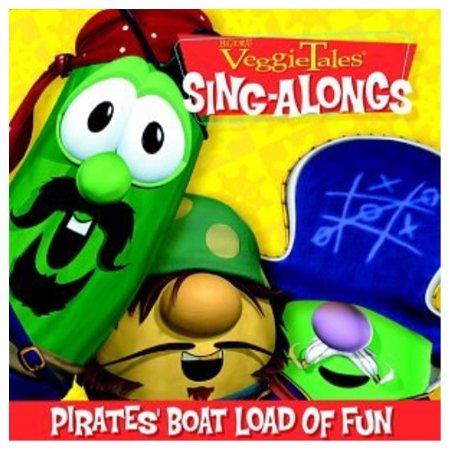Veggie Tales Sing Alongs Pirates Boat Load Of Fun Walmartcom