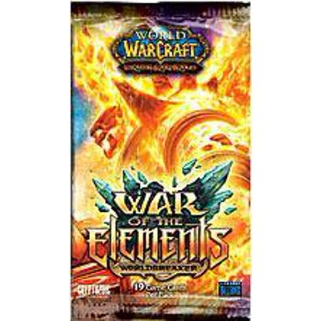 World of Warcraft Trading Card Game War of the Elements Booster Pack (War Of War Craft)