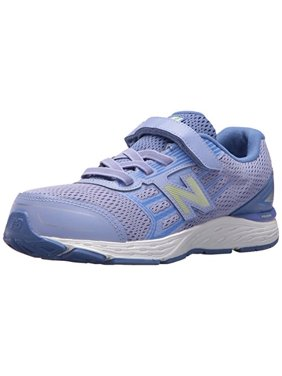 48ebd1d9ead49 Product Image new balance girls' 680v5 hook and loop running shoe, ice  violet/twilight