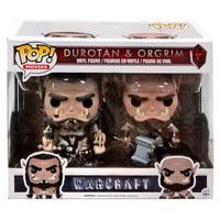 Warcraft Funko POP! Movies Durotan & Orgrim Vinyl Figure 2-Pack