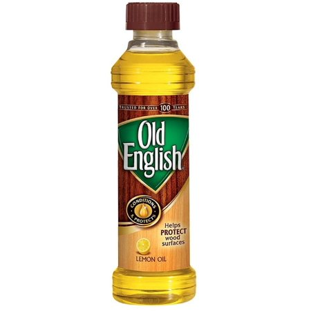 2 Pack - Old English Conditions & Protects Wood Furniture Polish, Lemon Oil 16