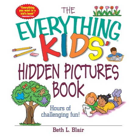 Steel Picture Book (The Everything Kids' Hidden Pictures Book : Hours Of Challenging)